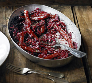 Sour Braised Red Cabbage