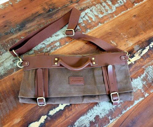 Leather-knife-roll-front
