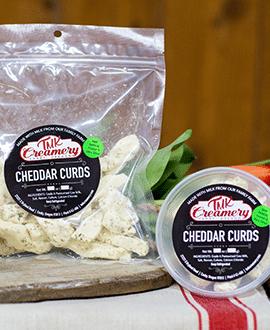 Garlic Dill Cheddar Curds