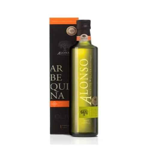 Alonso Olive Oil Arbequina 500ml bottle 2020 harvest