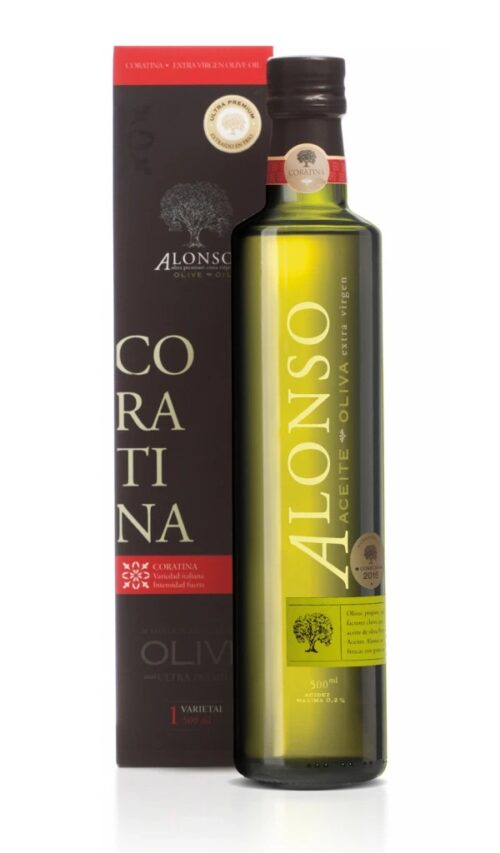 Alonso Olive Oil Coratina 500ml bottle 2020 harvest