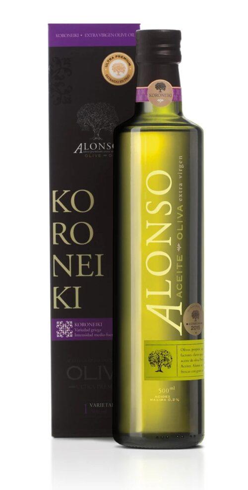 Alonso Olive Oil Koroneiki 500ml bottle 2020 harvest_1