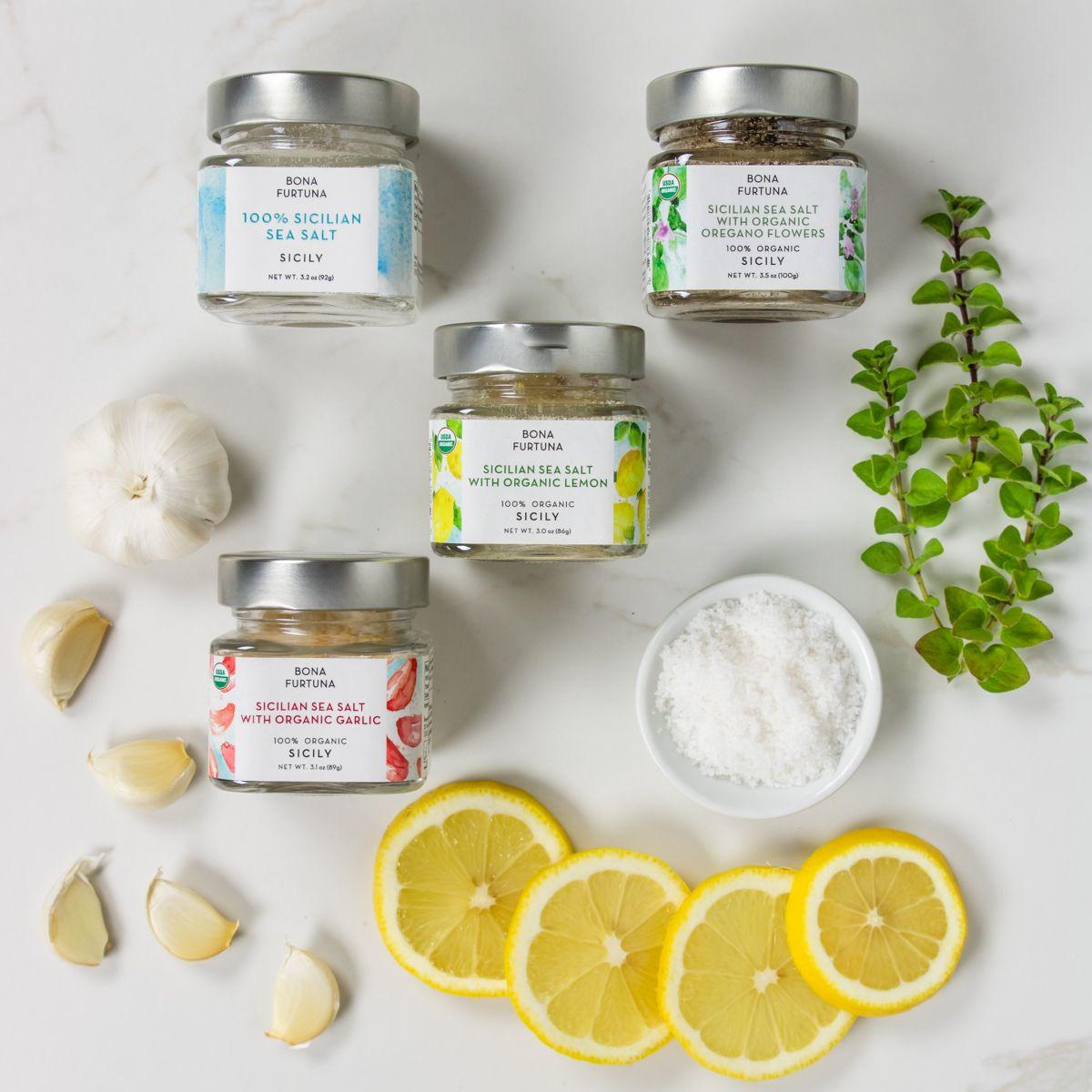 Trapani Sea Salt Collection