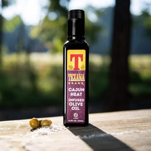 Texana Brand Cajun Heat Infused Olive Oil