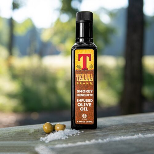 Texana Brand Smokey Mesquite Infused Olive Oil