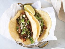 Coffee-Rubbed Steak Tacos