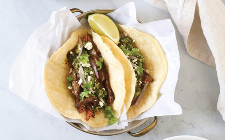 Coffee Rubbed Steak Tacos