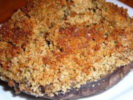 Stuffed Vino Cotto Portobello Mushrooms