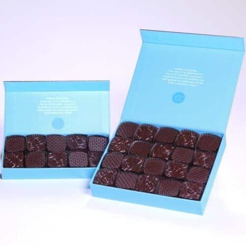 Fleur de Sel Small Batch Artisan Chocolate Caramels 10 piece gift box - Miz En Place