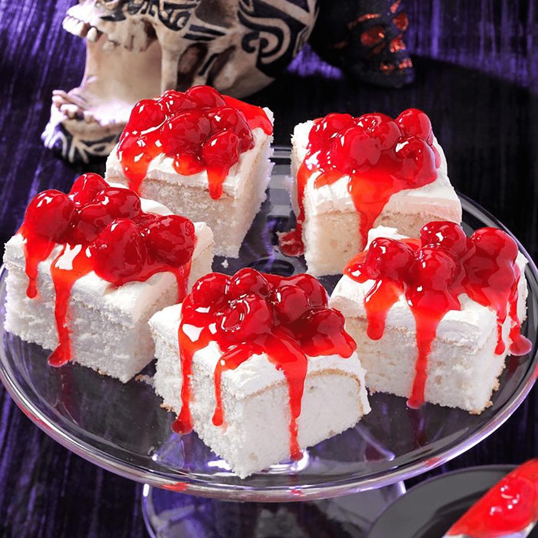 Spooky Fresh Berry Cake