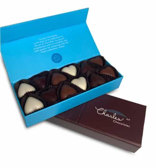 Meltaway Hearts 12 piece gift box - Miz En Place Marketplace