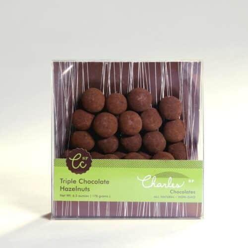 Chocolate Covered Nut Assortment: 3 bags - Macadamias, Almonds, and Hazelnuts - mizenplace.com